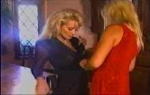 Kelly and Crystal in lesbian vintage porn
