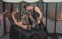 Slave Girl Chained And Punished