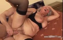 Granny getting fucked hard