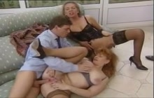 German vintage fuck party