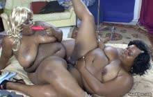 Lesbian BBBW 13 s3 with Blaque Foxx and Thunder Katt