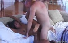 Interracial anal orgy with ebony babes