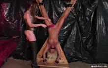 Flogged By Fallon s2 with Nikki Steele and Mistress Taylor Fallon