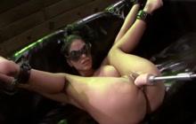 Jasmine Caro machine fucked