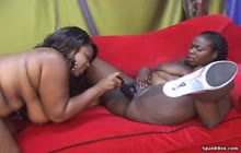 Lesbian BBBW 9 s3 with Lady Finesse and Ginger Haze