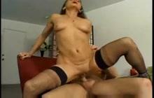Slutty MILF Jillian loves anal