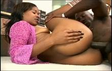Sexy ebony anal diva Jade