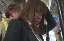 Public Japanese Voyeur Video In The Bus