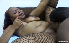 Lesbian BBBW 7 s3 with Miss Suckable and Slip N Slide