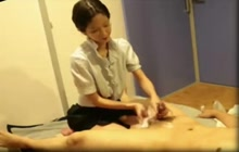 Japanese massage with happy end